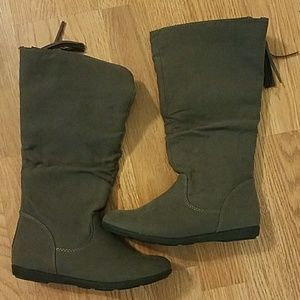 Girls Size 3 Gray Sonoma Boots
